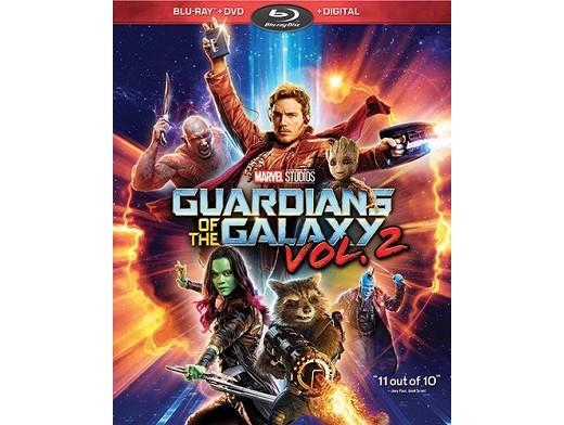 Guardians of The Galaxy vol 2 Blu-ray