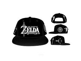 Gorro Zelda: Breath of the Wild Snapback Black