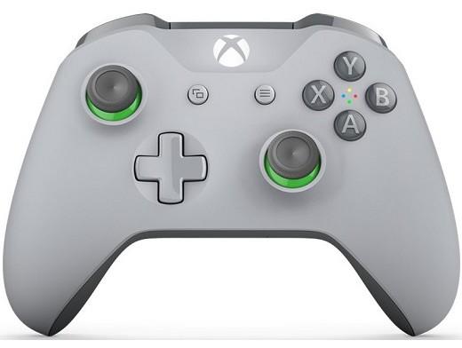 Control Inalámbrico Gris Verde Owens XBOX ONE