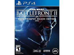 Star Wars Battlefront II Elite Trooper Ed PS4