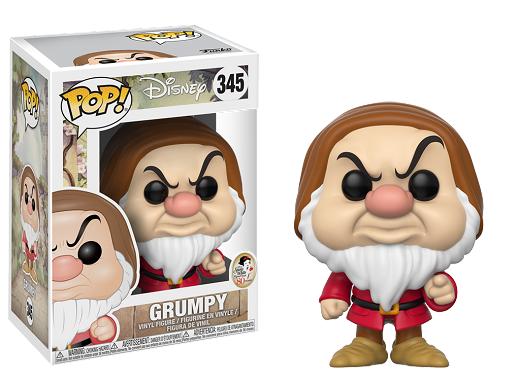 Figura Pop Disney: Snow White - Grumpy
