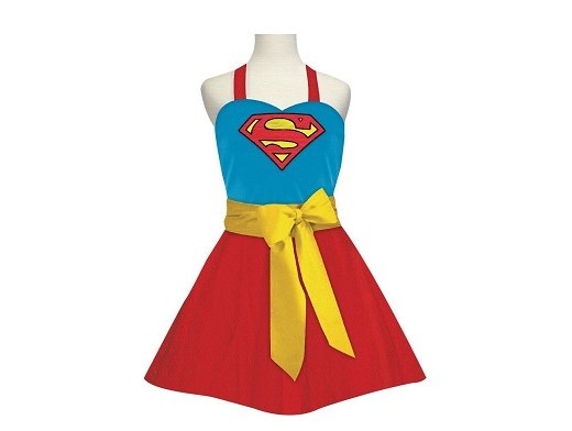 Delantal Supergirl Fashion (Adulto)