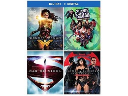 DC 4-Film Bundle Blu-ray