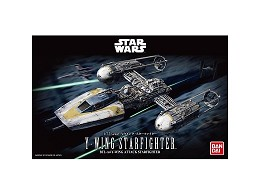 Model Kit Y-Wing Starfighter - Star Wars