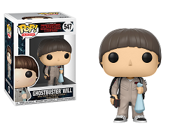 Figura Pop! TV: Stranger Things Ghostbuster Will