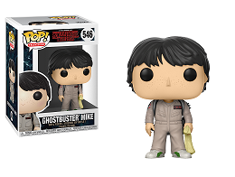 Figura Pop! TV: Stranger Things Ghostbuster Mike