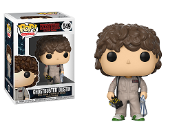 Figura Pop! TV: Stranger Things Ghostbuster Dustin