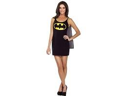 DC Batman Cape Tank Dress L