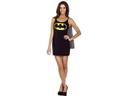 DC Batman Cape Tank Dress S