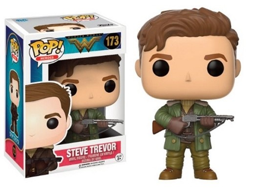 Figura Pop Movies Wonder Woman - Steve Trevor