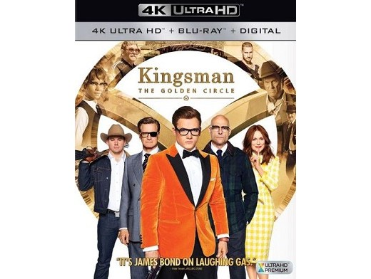Kingsman: The Golden Circle 4K Blu-Ray