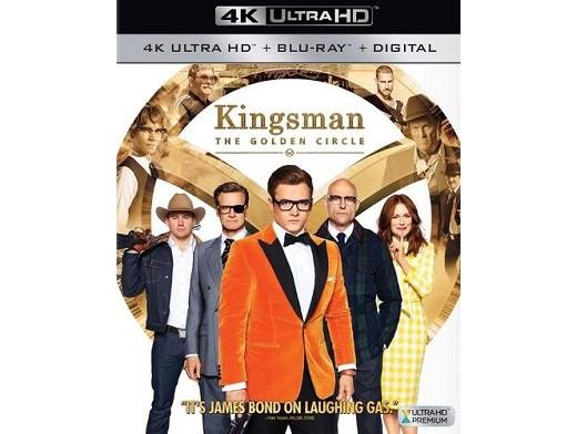Kingsman: The Golden Circle 4K Blu-Ray