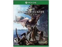 Monster Hunter World XBOX ONE Usado
