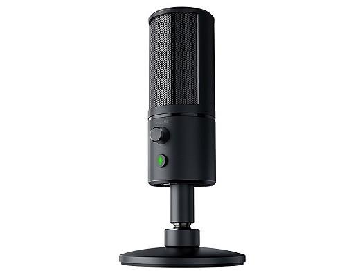 Micrófono Streaming Razer Seiren X Black