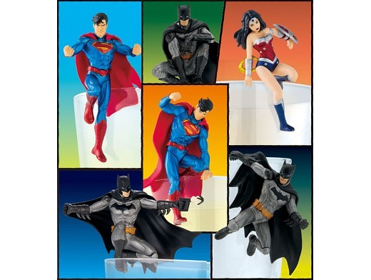 Figura Justice League marcador de vaso (al azar)