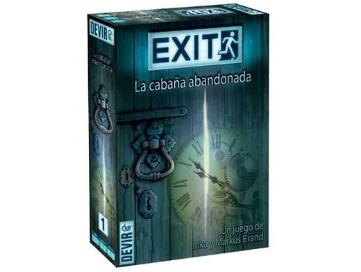 Exit 01 La Cabaña Abandonada - Juego de Mesa