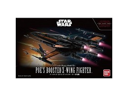Model Kit Poe's Boosted X-Wing Star Wars