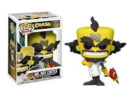 Figura Pop! Games: Crash Bandicoot - Dr Neo Cortex