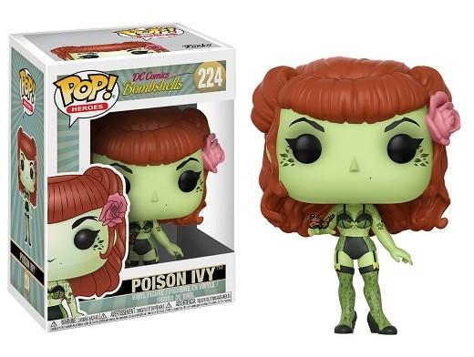 Figura Pop! Heroes: DC Bombshells - Poison Ivy