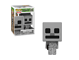 Figura Pop! Games: Minecraft - Skeleton