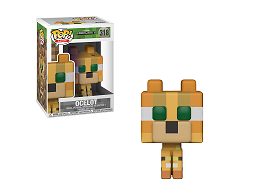 Figura Pop! Games: Minecraft - Ocelot