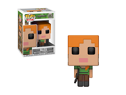 Figura Pop! Games: Minecraft - Alex