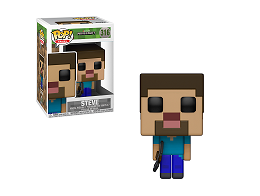 Figura Pop! Games: Minecraft - Steve