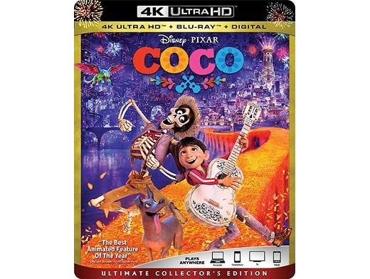 Coco (USA) 4K Blu-Ray
