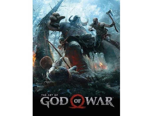 The Art of God of War (ING) Libro