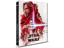 Star Wars Los Últimos Jedi Blu-ray Latam Steelbook