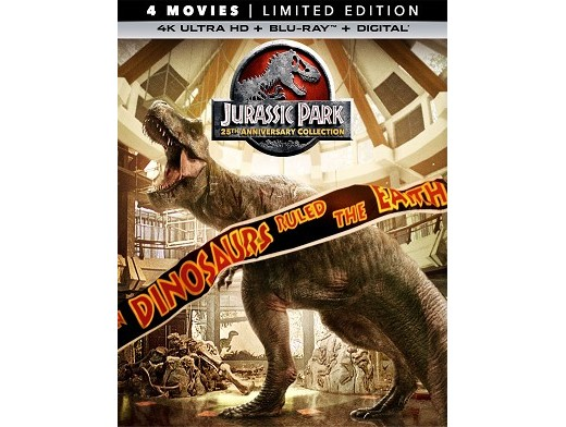 Jurassic Park 25th Anniv Collection 4K Blu-Ray