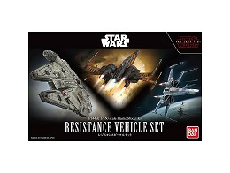 Model Kit Resistance Vehicle Set - The Last Jedi