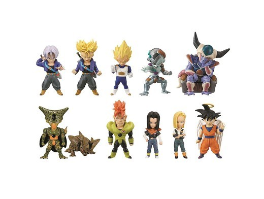 Figura Dragon Ball Z WCF Cell Saga (al azar)