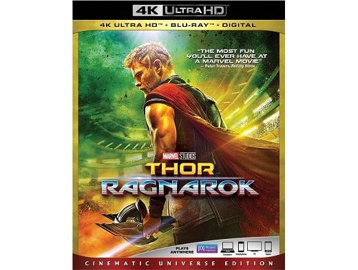 Thor Ragnarok 4K Blu-Ray