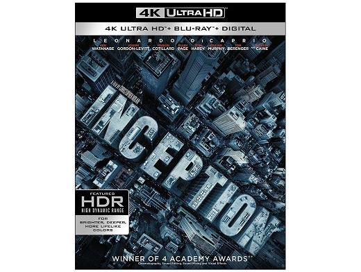 Inception 4K Blu-Ray