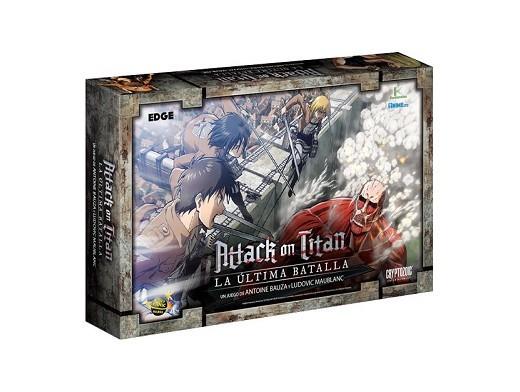 Attack on Titan: La última batalla - Juego de mesa