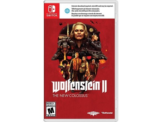 Wolfenstein II: The New Colossus NSW