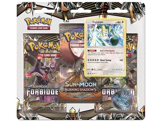 Pokémon TCG 3-Pack Forbidden Light - Regigigas