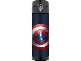 Botella Thermos Commuter 16oz Captain America