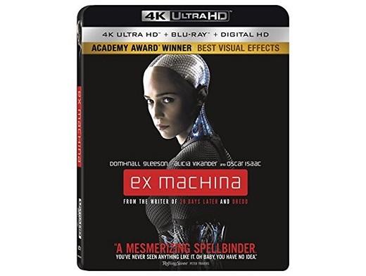 Ex Machina 4K Blu-Ray