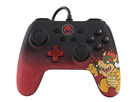 Control con Cable PowerA Bowser Edition NSW
