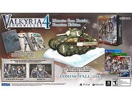 Valkyria Chronicles 4 Premium Edition NSW