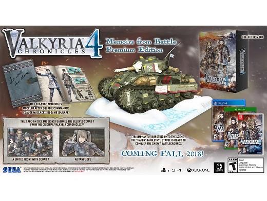 Valkyria Chronicles 4 Premium Edition PS4