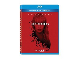 Red Sparrow Blu-Ray