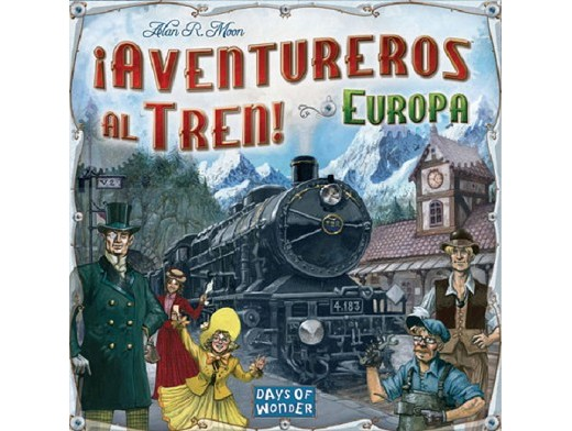 Aventureros al Tren! Europa - Juego de mesa