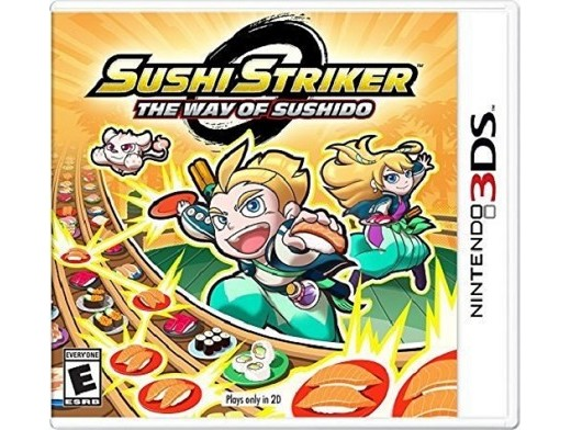 Sushi Striker: The Way of the Sushido 3DS