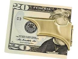 DC Batman Batarang Bronze Folding Money Clip