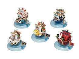Figura O.P. Yurayura Pirate Ship Col. 1 (al azar)
