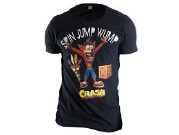 Polera Crash Bandicoot Spin Jump Wump L
