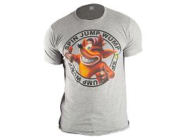 Polera Crash Bandicoot Logo Gray L